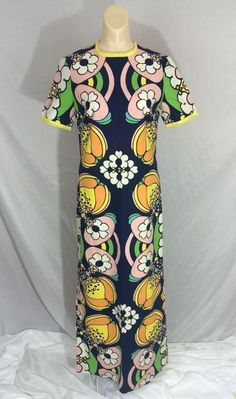 Peter Max •~• vintage dress