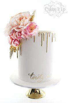 Image result for silver ganache drip tiered cake