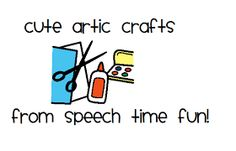 Speech Time Fun: Cute Artic Crafts!