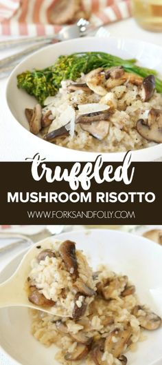 Truffled Mushroom Ri