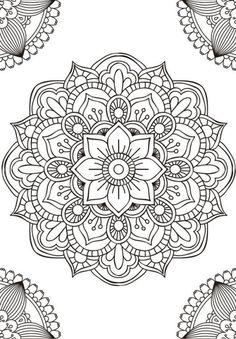 Las mejores mandalas en blanco y negro para colorear – Imágenes para whatsapp