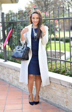 Coach Swagger Bag | Office Style Inspiration | How to Wear a Sheath Dress
