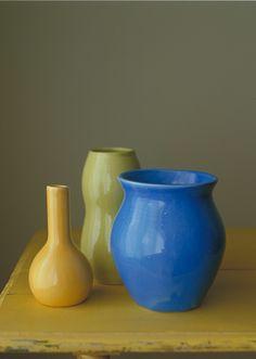 Gorgeous Barbara Eigen pottery.