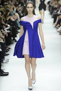 Love the colors and silhouettes in Dior's Fall 2014 collection.