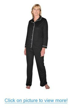 1a1e214ce9 Cool-jams Moisture Wicking Sleepwear for Women - Sophia Button Front Pajama  Set - Cool Fabric Technology - Small (4-6)