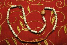 Magnesite beaded wrap bracelet by BrigidsCrossing on Etsy, $45.00