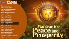Top 10 Mantras For Peace of Mind And Prosperity || Shanti Mantra -Chamun...