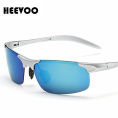 de1a9bbbfc4 HEEVOO 2016 popular Men Polarized Sunglasses Mirror Lens Driving Polarzied  Sunglasses Fashion Men s Sunglasses-in Sunglasses from Men s Clothing ...