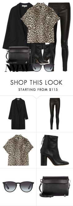 """""""Untitled #3188"""" by elenaday ❤ liked on Polyvore featuring Gérard Darel, Helmut Lang, rag & bone, Isabel Marant, Ray-Ban and Alexander Wang"""