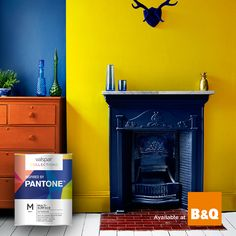 Make your home POP with vibrant paint palette colours from Valspar® Collections Inspired by Pantone. Find your nearest Collections B&Q store: http://www.valsparpaint.co.uk/products/