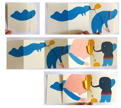 katsumi komagata workshop on Behance Children's Book Illustration, Illustrations, Arte Pop Up, Accordion Book, Shape Books, Paper Pop, Buch Design, Arts And Crafts, Paper Crafts