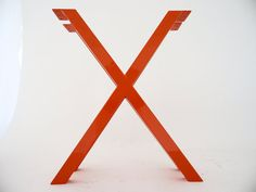 28 X-Frame Table Legs POWDER COATED Wide Base Height by Balasagun