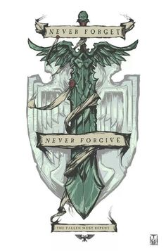 Never Forgive. Dark Angels