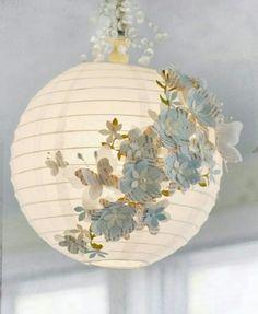Sende Yap – Kağıt Lamba ( Japon Feneri ) Süsleme