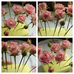 29 Ideas For Cake Fondant Flowers Jewelry Fondant Flower Tutorial, Fondant Flowers, Sugar Flowers, Fabric Flowers, Paper Flowers, Flower Pot Centerpiece, Cold Porcelain Tutorial, Cold Porcelain Flowers, Gum Paste Flowers