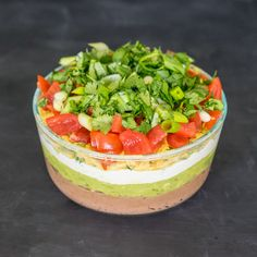 Vegan 7 layer dip