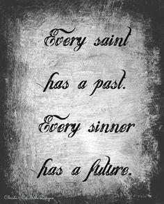 Saint Sinner 8x10 Print by CMcBrideDesigns on Etsy, $10.00