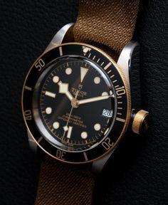 Tudor Heritage Black Bay SandG 79733N Two-Tone Watch Hands-On