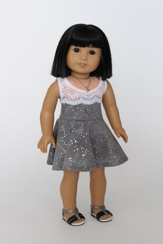 American Girl Doll Clothes Summer sweet: by LollyDollyDesigns