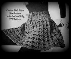Crochet skirt pattern.