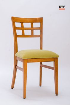 Modern Wood Chair, Modern Chairs, Dining Table Chairs, Bar Chairs, Chair Design, Furniture Design, Wooden Chair Plans, Garden Furniture Sets, Home Decor