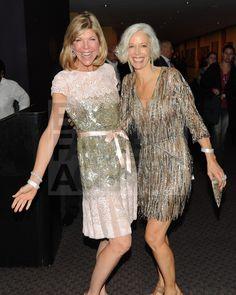 Linda Fargo...love the dress on the right