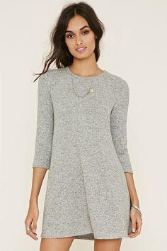 Marled Fleece Dress | Forever 21 - 2000205349