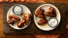 Red pepper, chili powder and cumin spark up these tangy wings.