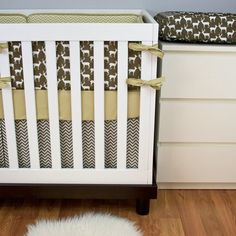 crib bedding set in navy deer gray arrowhudsonbedford on etsy