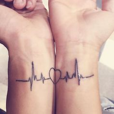 Here are Tiny Couples Matching Tattoos Ideas for every tattoos lover couple. Please check and get ideas about having matching tattoos with your partner. You can express your feelings about these tattoos in comments below. Bff Tattoos, Tribal Tattoos, Tattoos Geometric, Subtle Tattoos, Neue Tattoos, Friend Tattoos, Tattos, Romantic Couples Tattoos, Couple Tattoos Love