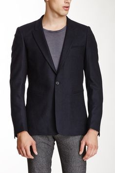 Menace Wool Blend Blazer by Sandro on @HauteLook USD 199