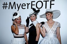 Myer Fashions on the Field at Flemington is not only an undisputed institution of the Melbourne Cup Carnival, it has established its place as Australia's largest and most prestigious outdoor fashion event. It continues to grow in prestige and stature and today attracts media attention and celebrity judges from around the world.
