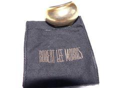 Vintage Gold plated Ponytail barrette #RobertLeeMorris