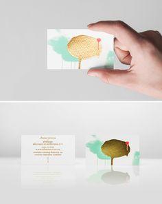 gold foil business card #business_card