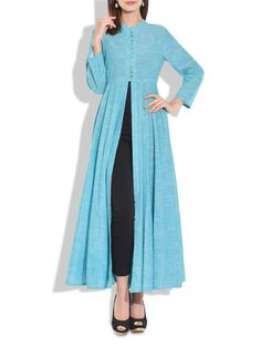 b6d1d1ed7  cotton gown Flared full length cotton gown that features a front open. The  ghera
