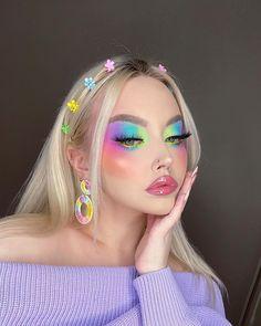 Makeup Eye Looks, Eye Makeup Art, Glam Makeup, Skin Makeup, Makeup Inspo, Eyeshadow Makeup, Makeup Inspiration, Beauty Makeup, Makeup Brushes