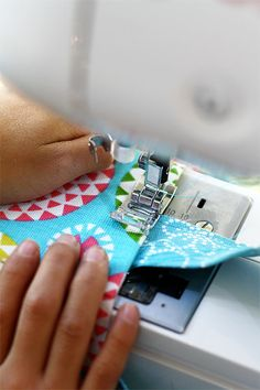 Kid's sewing idea: easy tote bag #sew #make #bag