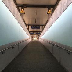 A little #perspective at #Fulda #Hauptbahnhof today. #lines #IgersFulda #travel #tourism #tourist #life #Hesse #Germany #Deutschland #ramp #slope #architecture #design
