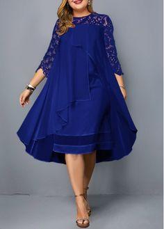 Cheap plus size dresses Plus size dresses online for sale Dress Plus Size, Panel Dress, Patchwork Dress, Dresses For Sale, Dresses Online, Wrap Dresses, Plus Size Fashion, Fashion Dresses, Fashion Clothes