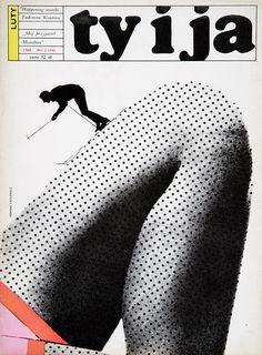 """Roman Cieślewicz, """"Ty i ja"""", okładka magazynu, 1968, fot. materiały prasowe"""