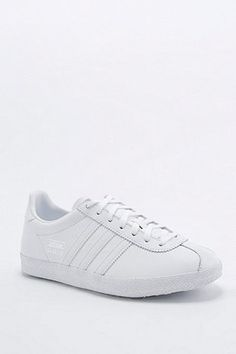 adidas Originals Gazelle White Trainers - Urban Outfitters