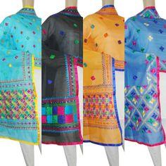 Chanderi Phulkari Dupatta Shop Now: www.jankiphulkari.com
