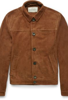 Buffalo Slim-Fit Suede Jacket