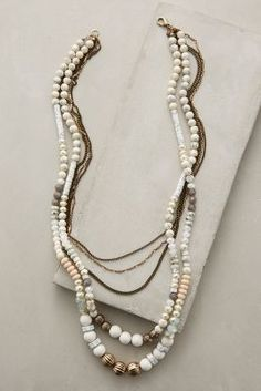 Anthropologie Copper Canyon Layered Necklace #anthrofave