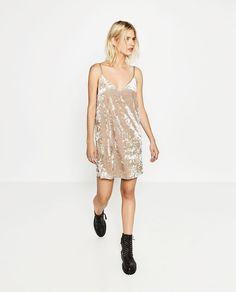 VELVET DRESS-DRESSES-WOMAN-COLLECTION AW16   ZARA United States