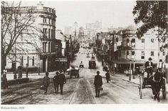 Walking down William Street, towards Kings Cross, Sydney, Australia  ca.1916 v@e