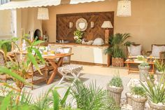 Ana Antunes | Exteriores | Outdoor Dining Furniture | Outdoor Pots and Plants