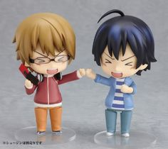 Bakuman. TOO CUTE. Shujin and Mashiro! <3 ^_^