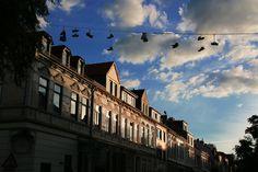 Shoefiti in Bremen - Katharazzi Photography