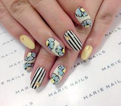 """いわきラトブ店♡今月限定SPアートの画像   MARIE NAILS """"マリーネイルズ""""だよ!"""
